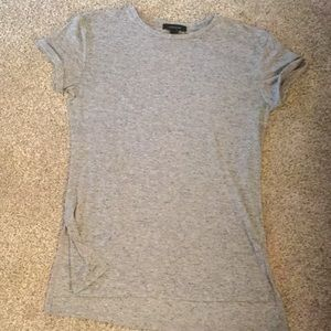 Long grey t-shirt
